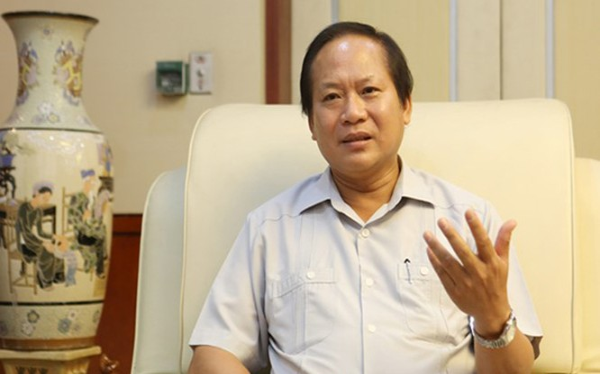 Bộ trưởng Bộ Thông tin và Truyền thông Trương Minh Tuấn. Ảnh: Infonet.