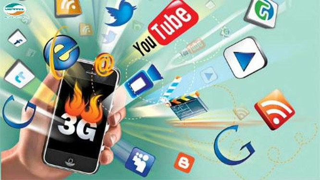 Tốc độ trung bình của đường tải xuống của mạng 3G tại Việt Nam là 7,8Mb/giây.