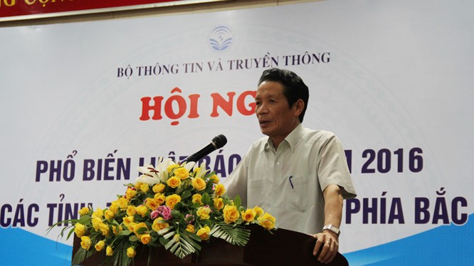Thứ trưởng Hoàng Vĩnh Bảo phát biểu tại Hội nghị