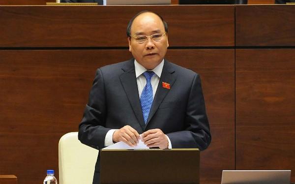Thủ tướng Nguyễn Xuân Phúc đăng đàn trả lời chất vấn trước Quốc hội sáng nay (17/11)