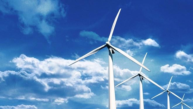 Các turbine của Nhà máy điện gió Phú Lạc