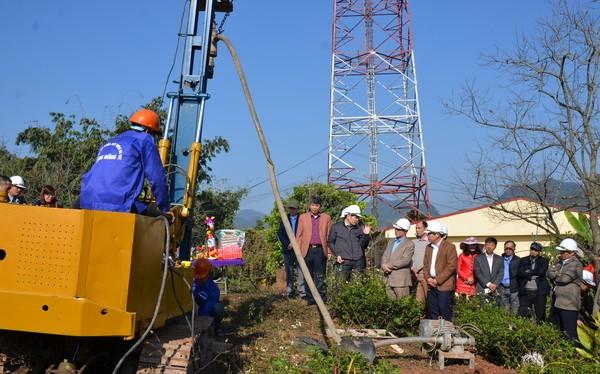 Triển khai xây dựng trạm định vị toàn cầu bằng vệ tinh đầu tiên tại Trạm Khí tượng nông nghiệp Mộc Châu, huyện Mộc Châu, tỉnh Sơn La