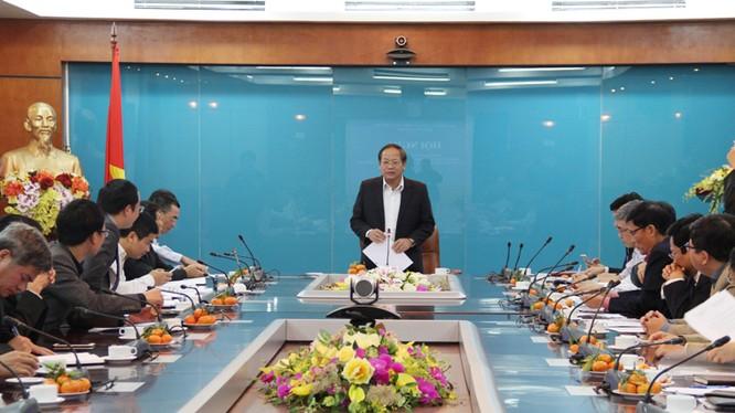 Bộ trưởng Trương Minh Tuấn phát biểu chỉ đạo tại Hội nghị