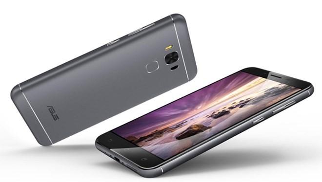 Chiếc điện thoại mới của Asus có pin 4.100 mAh, giá 5,49 triệu đồng.