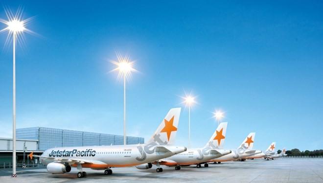 Đội bay Airbus A320 mới của Jetstar Pacific. (Ảnh: Jetstar cung cấp)