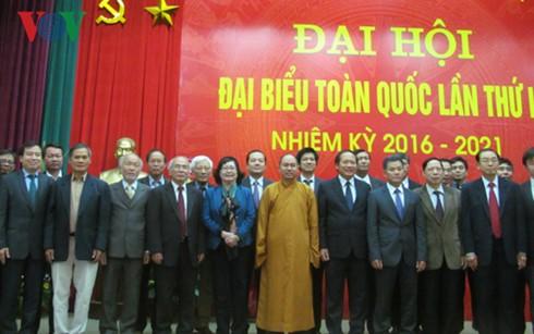 Các thành viên Ban chấp hành Hội Hữu nghị Việt Nam-Ấn Độ nhiệm kì 3.
