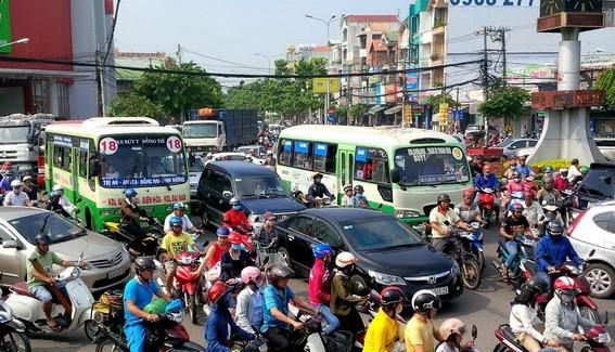 Cổng thông tin giao thông TP Hồ Chí Minh trên nền bản đồ số trực tuyến thông qua website tại địa chỉ: giaothong.hochiminhcity.gov.vn