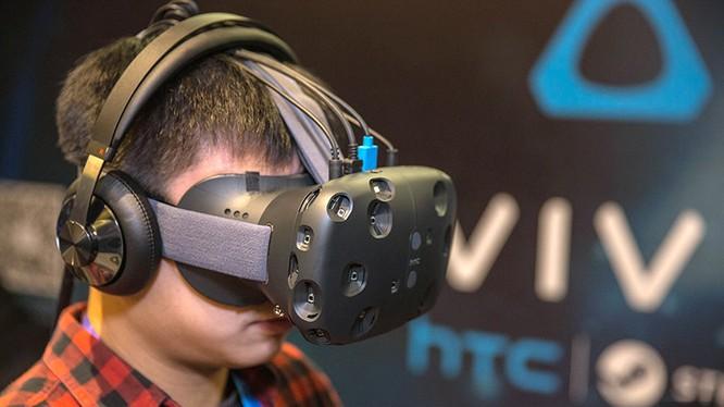 Kính thực tế ảo Vive của HTC.