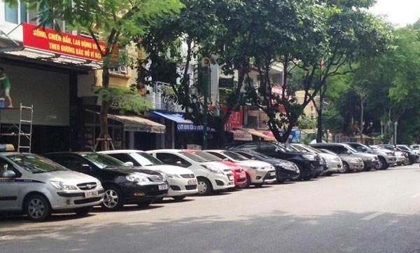 Hà Nội sẽ thí điểm dừng đỗ xe thông minh tại quận Hoàn Kiếm. Ảnh minh hoạ: Internet.