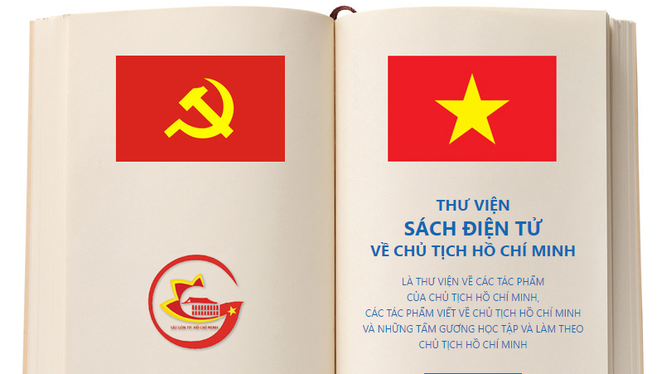 Thư viện có tên miền là thuviensachhochiminh.tphcm.gov.vn.
