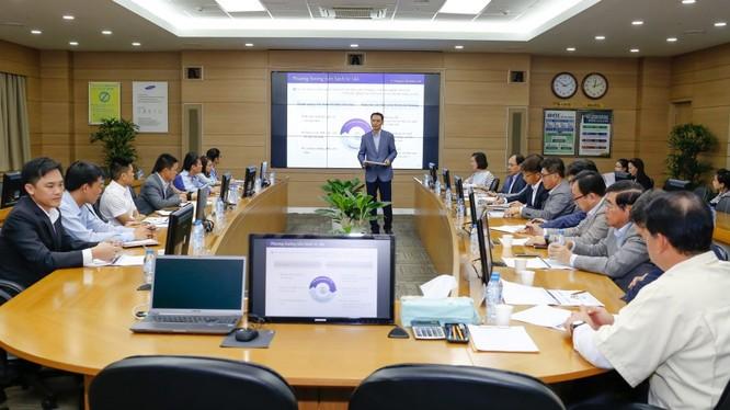 Samsung đặt mục tiêu hỗ trợ 12 doanh nghiệp cung ứng Việt Nam trong năm 2017, nâng tổng số doanh nghiệp Việt được tư vấn lên 26 doanh nghiệp tính từ năm 2015. Ảnh: Samsung VN.