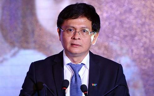 Tổng giám đốc VTV Trần Bình Minh.