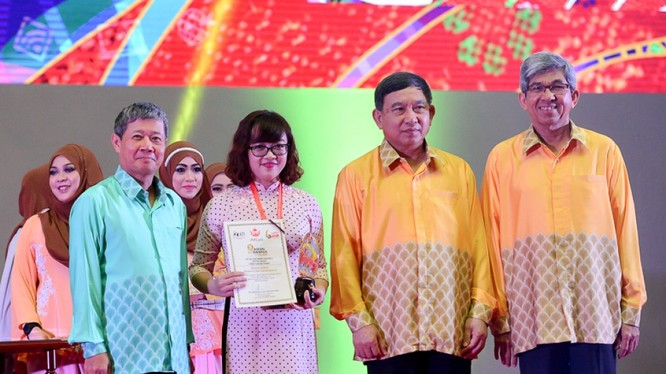 Lễ trao giải ASEAN ICT Awards 2016.