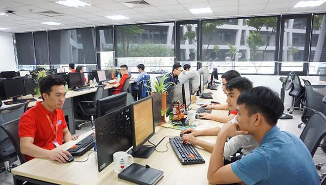"""Ông Hoàng Nam Tiến: """"Với ngành phần mềm chúng tôi, cứ 100 USD xuất khẩu thì có 84 - 86 USD do người Việt Nam làm ra"""". Ảnh minh hoạ: Internet"""