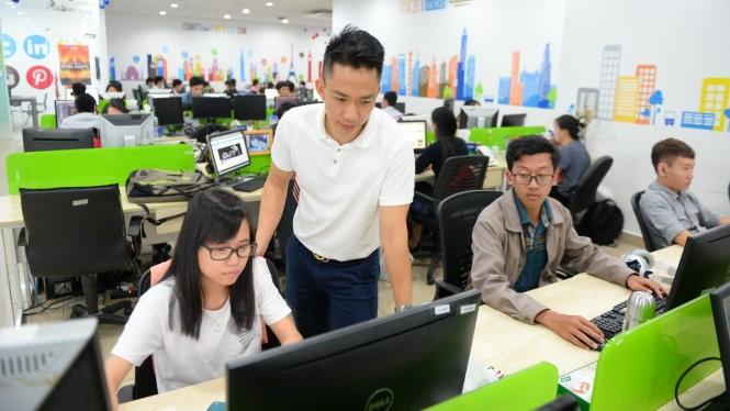Theo một khảo sát gần đây, trong 3 năm vừa qua, số lượng công việc ngành CNTT – Phần mềm đã tăng trung bình 47% mỗi năm, nhưng số lượng nhân sự ngành này chỉ tăng ở mức trung bình 8%. Ảnh minh hoạ: Internet