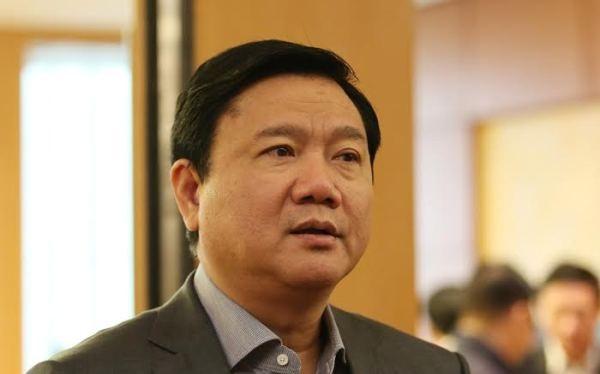 Ông Đinh La Thăng, Uỷ viên Bộ Chính trị, Bí thư Thành uỷ Thành phố Hồ Chí Minh, nguyên Bí thư Đảng uỷ, nguyên Chủ tịch HĐTV Tập đoàn PVN