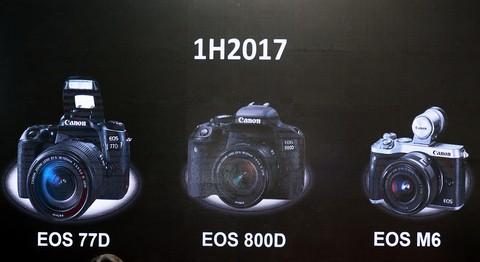 Bộ ba máy ảnh vừa ra mắt