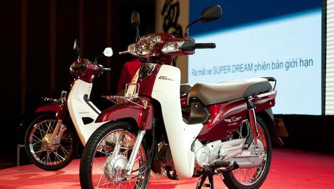 Honda Super Dream 110 vừa bị khai tử tại thị trường Việt Nam.