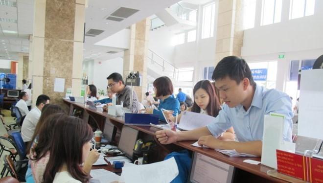 Theo báo cáo của Cục thuế Hà Nội, đến nay đã có khoảng 98% doanh nghiệp trên địa bàn nộp hồ sơ khai thuế qua mạng và khoảng 96% doanh nghiệp đăng ký nộp thuế điện tử. Ảnh minh hoạ: Internet.