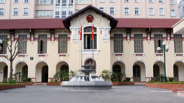 Trụ sở Bộ TT&TT, 18 Nguyễn Du, Hà Nội.