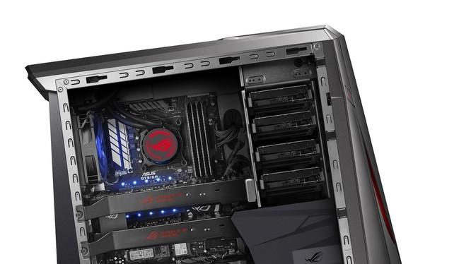 Asus ROG GT51CH được coi là cỗ máy chơi game hạng nặng dành cho game thủ chuyên nghiệp.