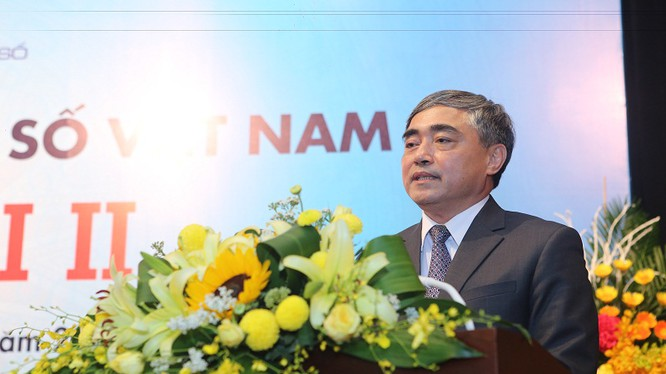 Ông Nguyễn Minh Hồng -- Tân Chủ tịch Hội Truyền thông số Việt Nam nhiệm kỳ 2017 - 2022.