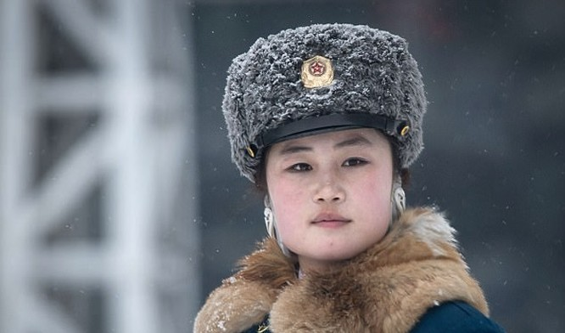 Các nữ cảnh sát giao thông được coi là gương mặt đại diện cho thủ đô Bình Nhưỡng.
