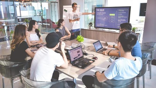 54% người sử dụng không gian làm việc chung (co-working space) là sáng lập hoặc nhân viên của các công ty khởi nghiệp và gần 14% là người làm việc tự do hoặc tự kinh doanh. Ảnh minh hoạ: Internet