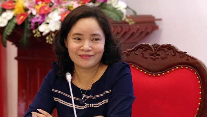Bà Trịnh Thị Thủy được bổ nhiệm làm Thứ trưởng Bộ Văn hóa, Thể thao và Du lịch.