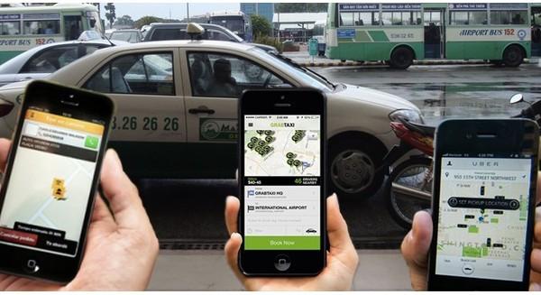 Vào đầu năm 2017, Hiệp hội Vận tải TPHCM đã từng đưa ra kiến nghị thuế giá trị gia tăng của các doanh nghiệp taxi và Grab, Uber nên ở mức 5%. Ảnh minh hoạ: Internet.