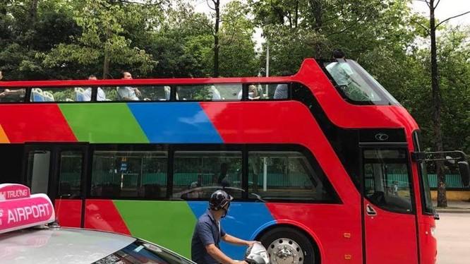 Đại diện công ty Beepro cho biết: Xe được thiết kế cho thị trường du lịch Việt Nam phát triển sản phẩm city tour. (ảnh: Tuấn Anh - Otofun)