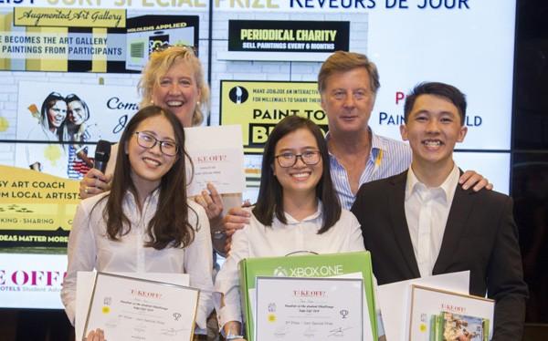 Là một trong những đội trẻ nhất tại cuộc thi, cả đội đã hoàn toàn thuyết phục các chuyên gia quốc tế bằng ý tưởng mang tính ứng dụng cao, gắn kết cộng đồng địa phương và quốc tế cũng như cách thuyết trình thể hiện đam mê, tâm huyết cho dự án. Dựa trên
