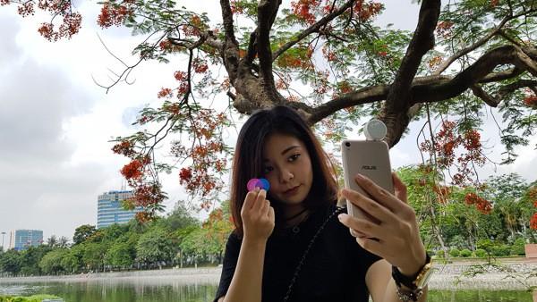ASUS ZenFone Live mẫu smartphone dành cho đến cho giới trẻ với thiết kế gọn nhẹ trang nhã, khả năng selfie ấn tượng cùng công nghệ làm đẹp khi livestream.