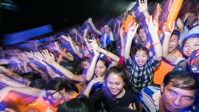 Bữa tiệc âm nhạc hứa hẹn sẽ đem lại không gian âm nhạc sống động, trẻ trung, nhiệt huyết.