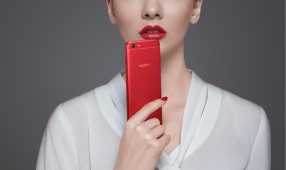 OPPO F3 phiên bản Đỏ đam mê được bán giới hạn.