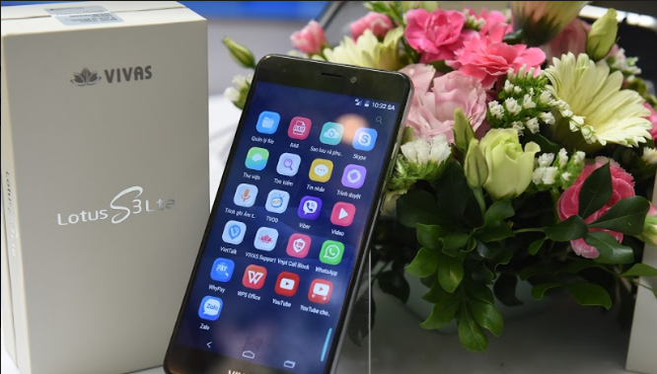 Vivas Lotus S3 LTE đang được bán ra thị trường với mức giá 3.990.000 đồng.