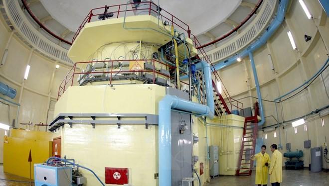 Lò phản ứng hạt nhân tại Viện nghiên cứu hạt nhân. (Ảnh: Quang Nhựt/TTXVN)