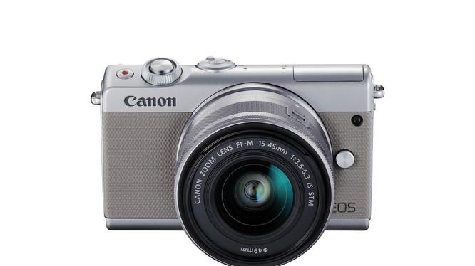 Canon EOS M100. Ảnh: DT