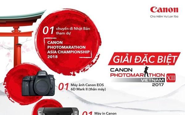 Cuộc thi sáng tác ảnh nhanh Canon PhotoMarathon lần thứ 12 đã chính thức khởi động. Ảnh: Canon.