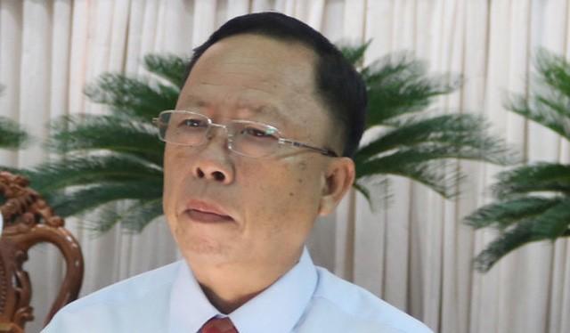 Bí thư Tỉnh ủy Hậu Giang Trần Công Chánh - Ảnh Lê Dân