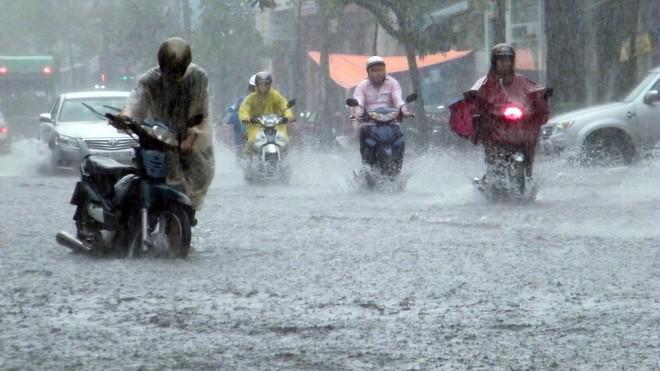 Sáng sớm nay (10/10), áp thấp nhiệt đới đã đi vào đất liền các tỉnh Hà Tĩnh-Quảng Bình. Ảnh: TTKTTƯ
