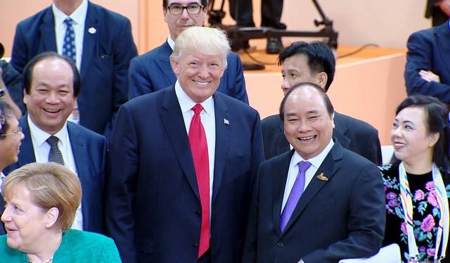 Tổng thống Mỹ Donald Trump sẽ tới Việt Nam vào tháng 11 tới đây (ảnh: VGP)