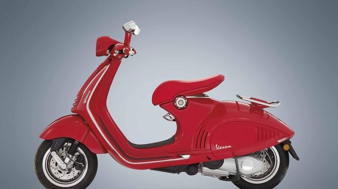 Vespa 946 RED được thiết kế như một nét đặc trưng độc đáo của Vespa. Ảnh: Piaggio Việt Nam.