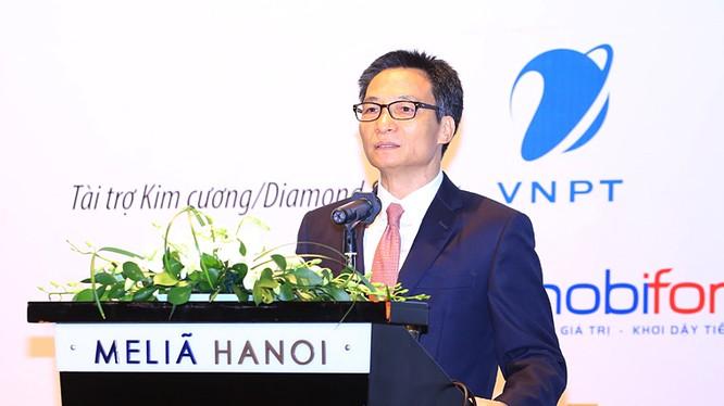 Phó Thủ tướng Chính phủ Vũ Đức Đam phát biểu chỉ đạo tại Hội nghị. Ảnh: Xuân Lộc