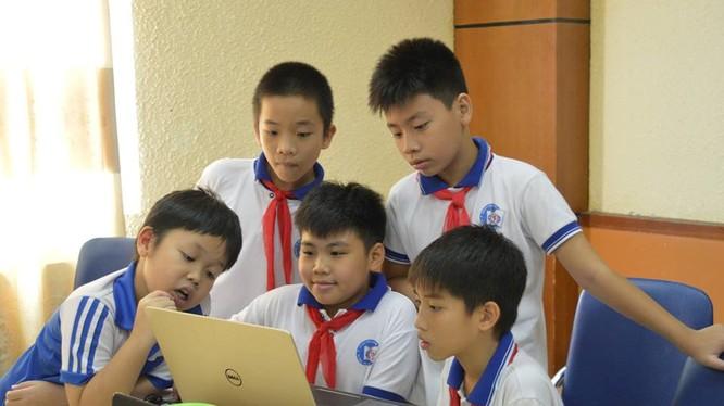 Cuộc thi WeCode nhằm thúc đẩy niềm đam mê lập trình của học sinh, giúp các em nâng cao khả năng lập trình và xây dựng những kỹ năng khác về phân tích, giải quyết vấn đề. Ảnh minh hoạ: Nhật Cao.