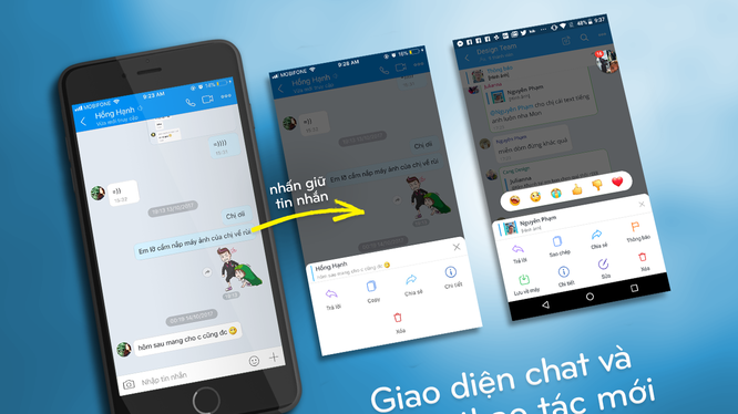 Gần đây, Zalo liên tục cho ra mắt nhiều tính năng thú vị giúp việc liên lạc trên ứng dụng này thêm dễ dàng. Ảnh: Zalo