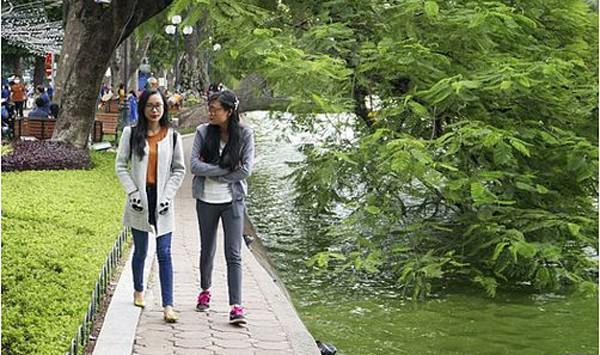 Kiểu thời tiết phổ biến ở khu vực phía Bắc là trời nắng hanh, se lạnh về đêm và sáng. Ảnh minh hoạ: Vietnamnet.