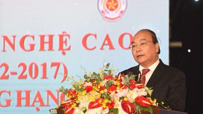 Thủ tướng phát biểu tại lễ kỷ niệm.