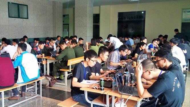 Phòng thi tại Hà Nội. Ảnh: BTC