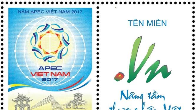 """Tên miền """".VN"""" trên Tem APEC là một nhân tố đóng góp không nhỏ trong việc nâng tầm và tạo cơ hội phát triển cho doanh nghiệp. Ảnh: VNNIC"""